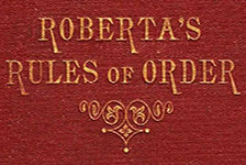 Roberta's Rules